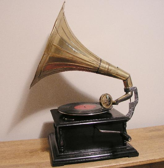 Edison Gramophone Stock Photo - Image: 57886822