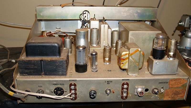 HALLICRAFTERS  SX-101A  TUBE  KIT
