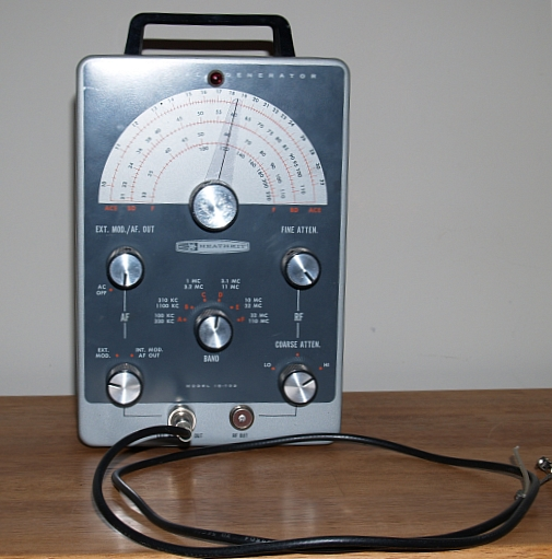 Heathkit Signal Generator : Antique radio forums view topic heathkit ig signal