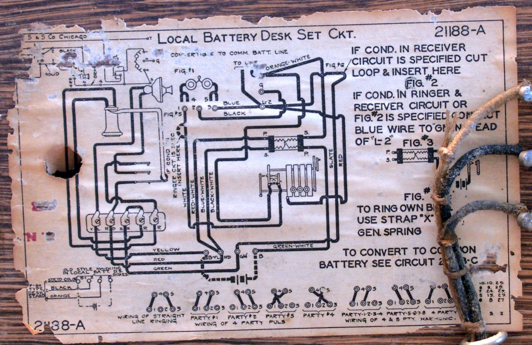Antique Phone Wiring Diagram - Wiring Diagram K8 on