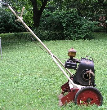 Antique Power Lawn Mower