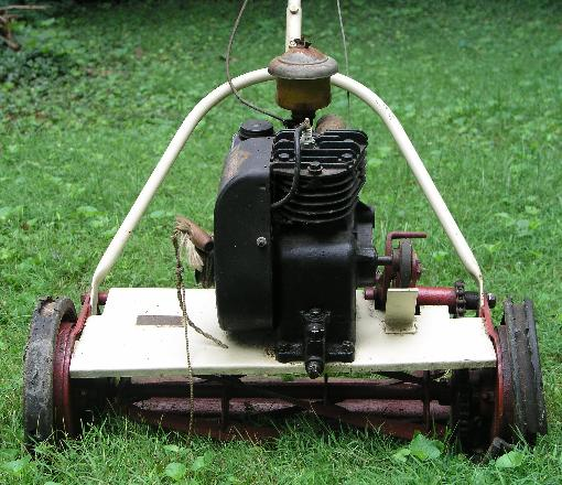 Antique Power Lawn Mower