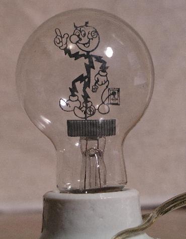 Reddy Kilowatt Lamp