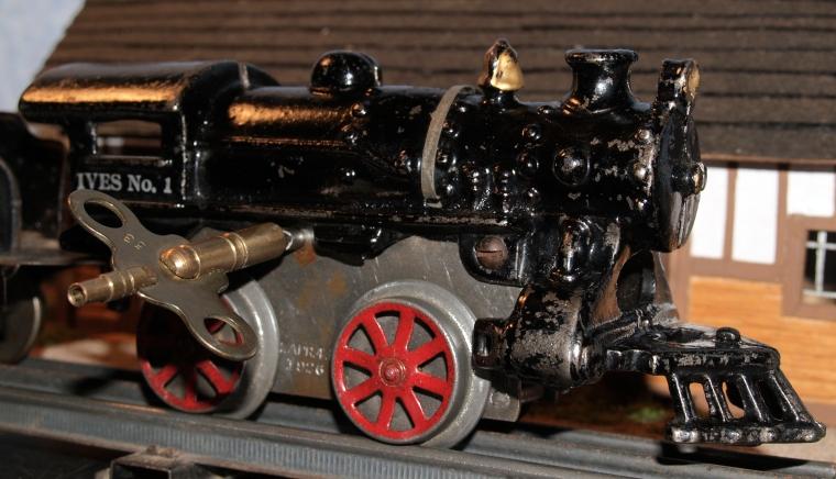 Ives No 1 Windup Toy Steam Engine Locomotive